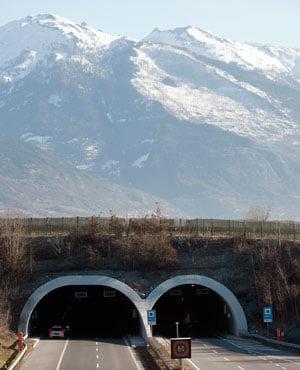 china tunnel