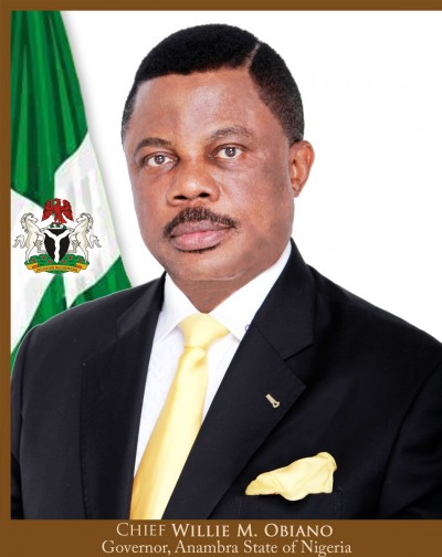 Governor Willie Obiano, Anambra State