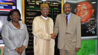 lai mohammed with Sudan Amb