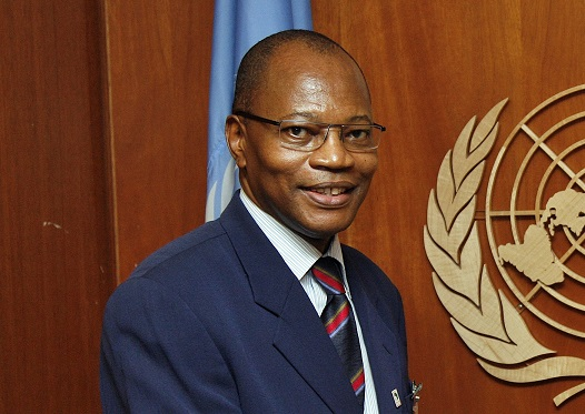 DSG with DR. Mohamed Ibn Chambas Chairman (ECOWAS)